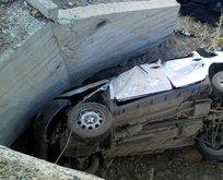 Erzurum'da feci kaza: Bir aile yok oldu