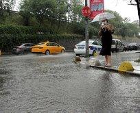 İstanbul için kuvvetli yağış ve dolu uyarısı!