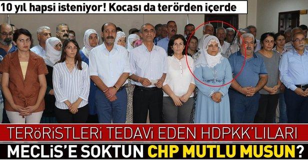 HDPli Remziye Tosun'un teröristleri tedaviden 10 yıl hapsi isteniyor