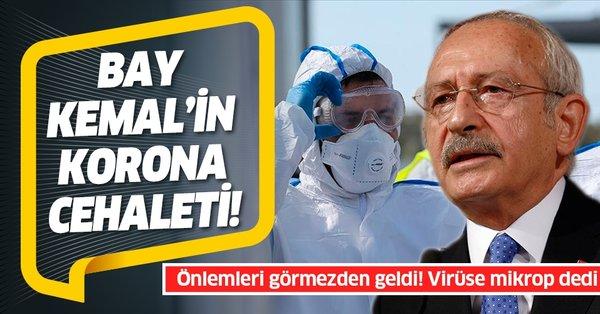 Kemal Kılıçdaroğlu'nun Kovid-19 cehaleti: Virüsten mikrop diye bahsetti - Takvim