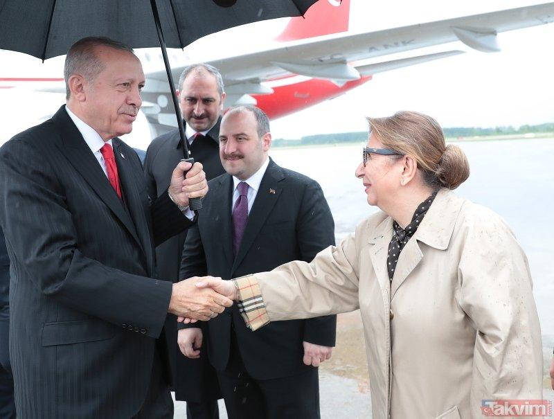 Başkan Erdoğan 19 Mayıs'ın 100. yıldönümünde Samsun'da halka seslendi