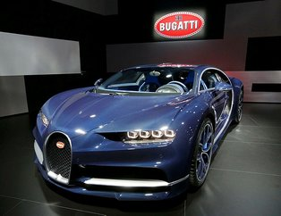 Bugatti'yi görenlerin ağzı açık kaldı! Bu sizin bildiklerinizden değil...