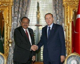 Pakistan Cumhurbaşkanı Hüseyin Erdoğanı tebrik etti