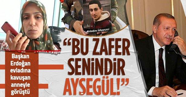 Diyarbakır'da 3 aile evladına kavuştu