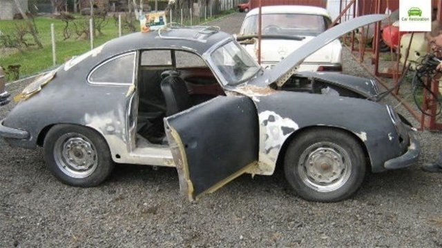 Hurdaya ayrılan Porscheun inanılmaz değişimi!