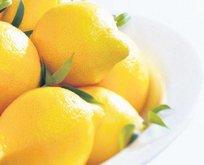 Fırında limon
