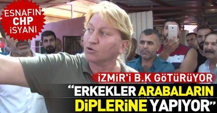 İzmirde esnaflar tuvalet zammına isyan etti