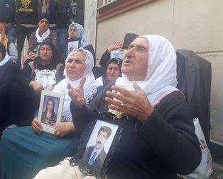 HDP'liler yine acılı ailelere sataştı!