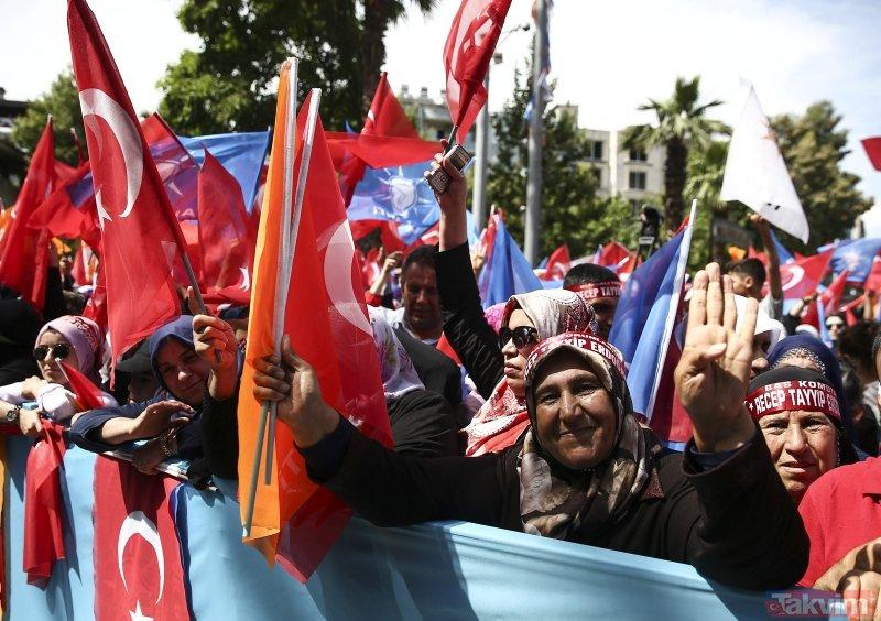Cumhurbaşkanı Erdoğan'a Adıyaman'da sevgi seli