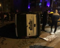 Çorum'da feci kaza! Aynı aileden 5 kişi yaralandı