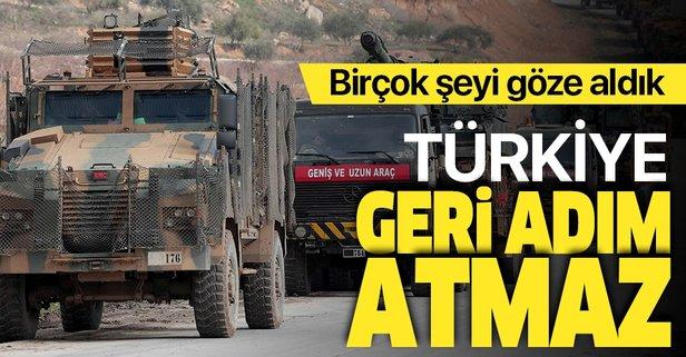 Türkiye geri adım atmaz