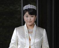 Japon prenses gelecek ay evlenecek