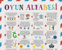 Milli Eğitim Bakanı Ziya Selçuk, çocuklar için Oyun Alfabesi hazırladı!