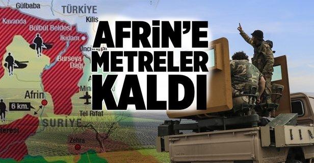 Afrin'in merkezi için çember kapanıyor