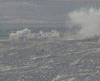 Afrin'de kritik bölge teröristlerden temizlendi