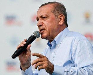 İncenin dershanecilik geçmişine Erdoğandan tepki
