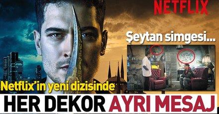 Çağatay Ulusoy'un başrolünde olduğu Netflix dizisi Hakan: Muhafız  İllimunati simgeleriyle dikkat çekti!