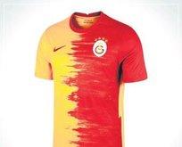 Galatasaray yeni sezonda fırça desenli parçalı forma giyecek