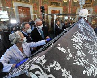 Kabe Kuşağı yeniden Fatih Sultan Mehmet Türbesi'nde