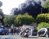 Vatikandan dumanlar yükseliyor