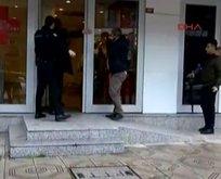 Üsküdar'da banka soygunu