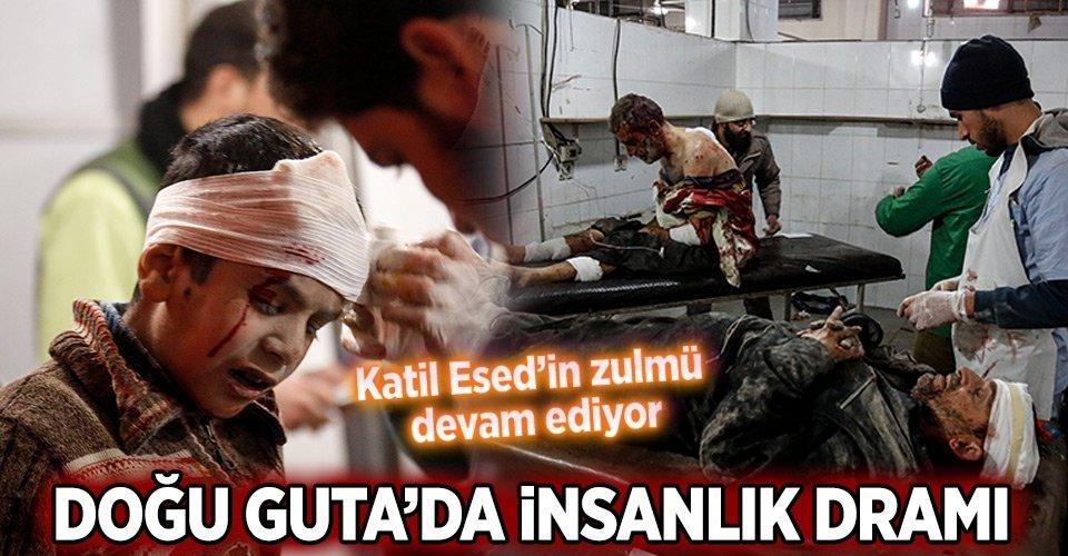Esed rejiminin Doğu Gutaya saldırılarında 30 sivil öldü