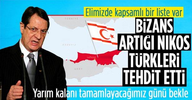 GKRY Lideri Nikos, Türkleri tehdit etti