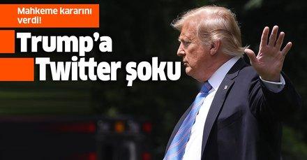 Mahkeme kararını verdi! Trump, Twittter kullanıcılarını engelleyemeyecek
