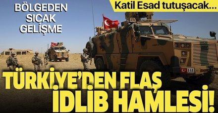 Türkiye'den Suriye'de dikkat çeken hamle! İdlib sahasına konuşlandırıldılar