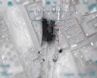 MSB o görüntüleri paylaştı! Esad rejimi hedefleri imha edildi