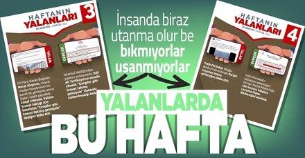CHP ve yandaşlarının bu haftaki yalanları! 30 Ağustos-5 Eylül