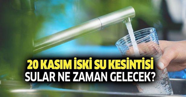 İstanbul'da sular ne zaman gelecek?