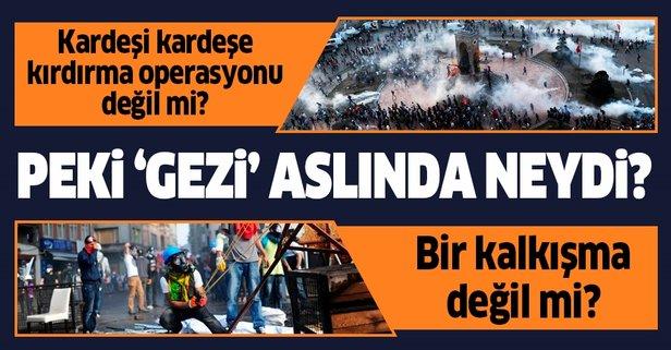 Peki 'Gezi' aslında neydi?