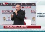 Başkan Erdoğan: Şimdi inşallah İzmir'i de alacağız