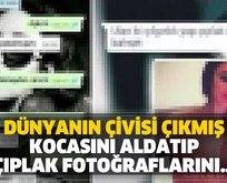 Kocasını aldatıp WhatsApp'tan çıplak fotoğraflarını gönderince...