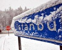 İstanbul'a kuvvetli kar geliyor!