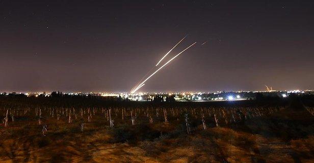 İsrail'e karşılık 200 füze