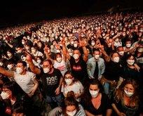 İspanya'da 5 bin kişilik konser deneyi! İlk kez oldu...