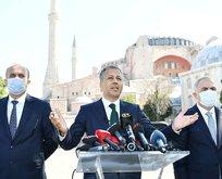 İstanbul Valisi Yerlikaya'dan Ayasofya teşekkürü