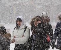 4 il için yağmur ve kar yağışı uyarısı