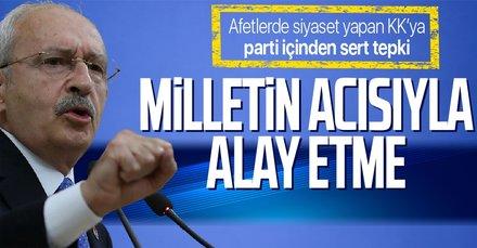 Kemal Kılıçdaroğlu'na eski CHP Genel Başkan Yardımcısı Yılmaz Ateş'ten sert tepki: Milletin acısıyla alay mı ediyorsunuz?