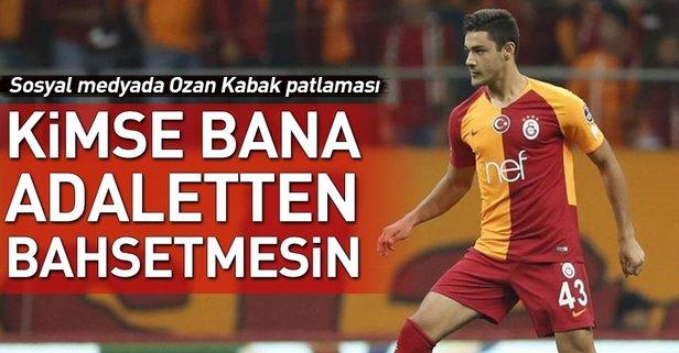 Ozan Kabak sosyal medyayı salladı