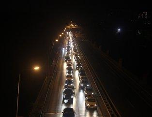 Vatandaşlar yollara döküldü! Kurban Bayramı tatili öncesi...
