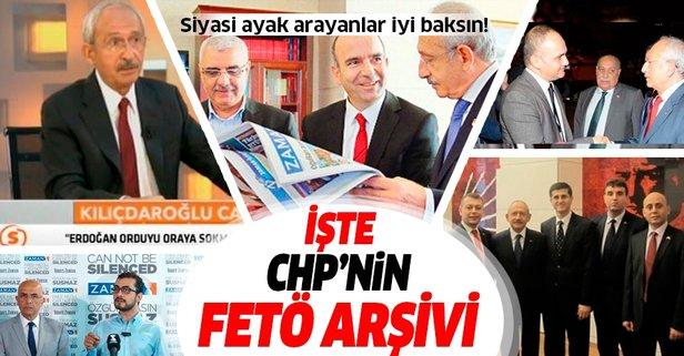 İşte CHP'nin FETÖ arşivi