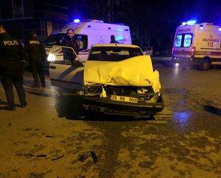Denizli'de feci kaza! Araçlar hurdaya döndü