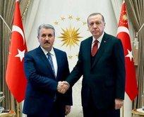 Erdoğan ile Destici arasında kritik görüşme