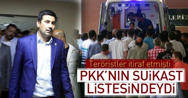 AK Partili Yıldız, PKK'nın suikast listesindeydi