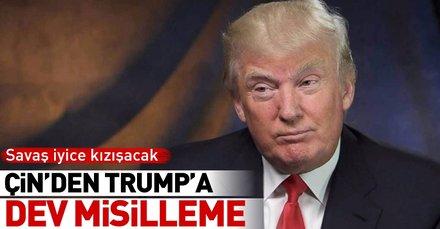 Son dakika: Çinden Trumpa dev misilleme!