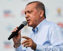 İnce'nin dershanecilik geçmişine Erdoğan'dan tepki