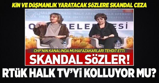 RTÜK'ten Halk TV'ye ödül gibi ceza!